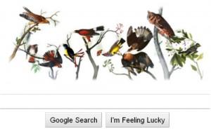 John James Audubon google doodle