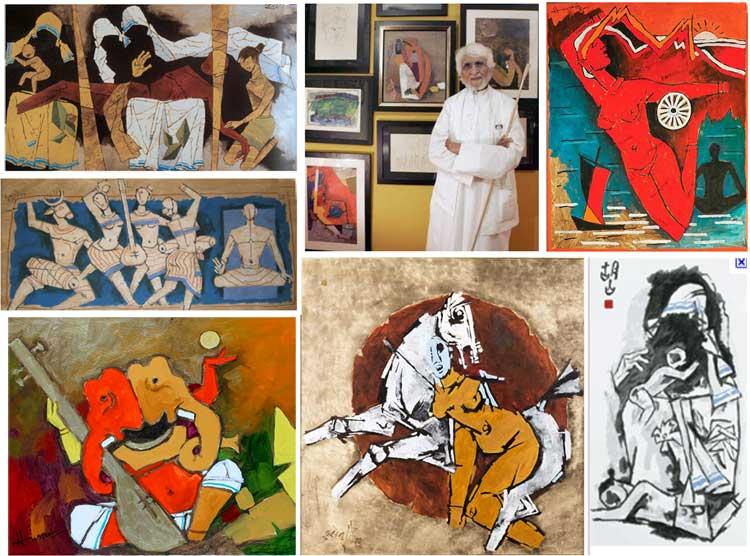 M. F. Husain Art