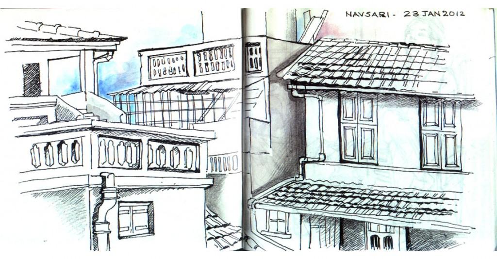 sketch. Navsari 2012