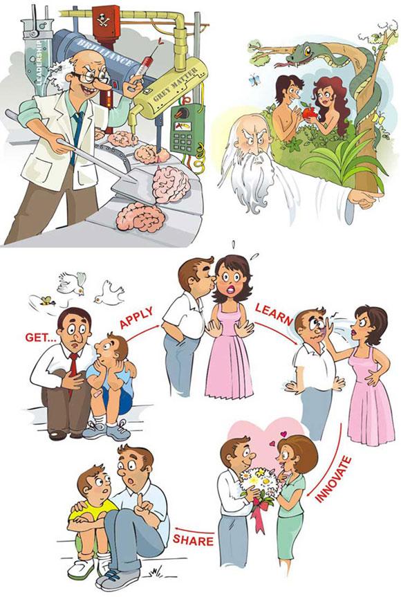 calendar cartoons