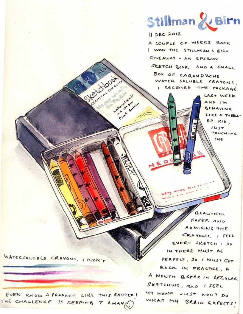 sketchbook Niloufer Wadia