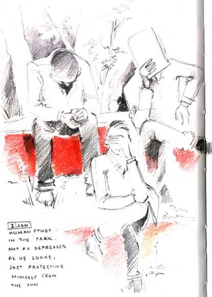 Niloufer Wadia  - Sketchbook