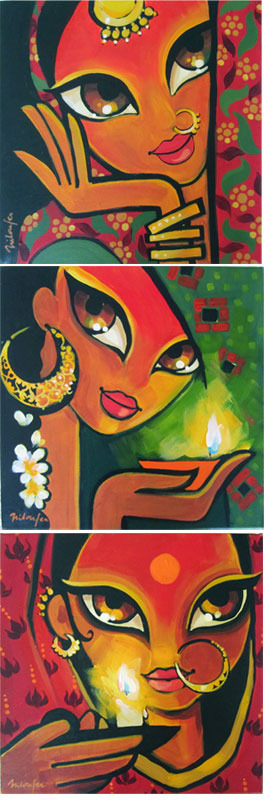 61 Naive Art From India Ideas Art Indian Art Indian Art Paintings
