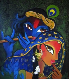 Radha Krishna ©Niloufer Wadia