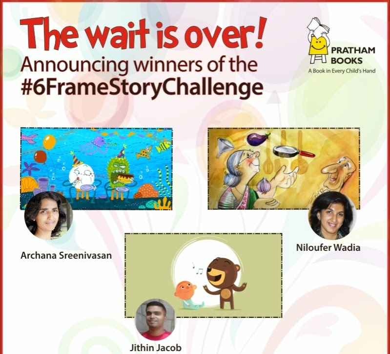 Niloufer Wadia winner of the Pratham #6FrameStoryChallenge?